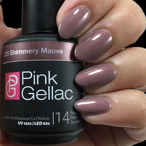 Pink Gellac #225 Shimmery Mauve