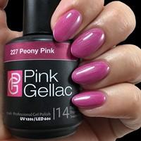 Pink Gellac #227 Peony Pink