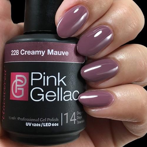 Pink Gellac #228 Creamy Mauve
