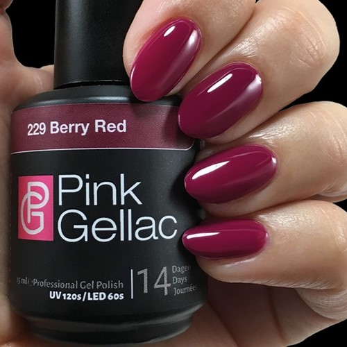 Pink Gellac #229 Berry Red