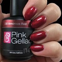 Pink Gellac #230 Amorous Red