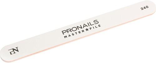 ProNails Master File Straight 240-240  6stuks