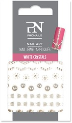 ProNails Nail Jewel Appliques White Crystals