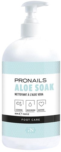 ProNails- Aloe Soak 500 ml