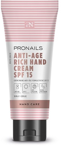 ProNails Anti-Age Hand Cream Rich SPF 15