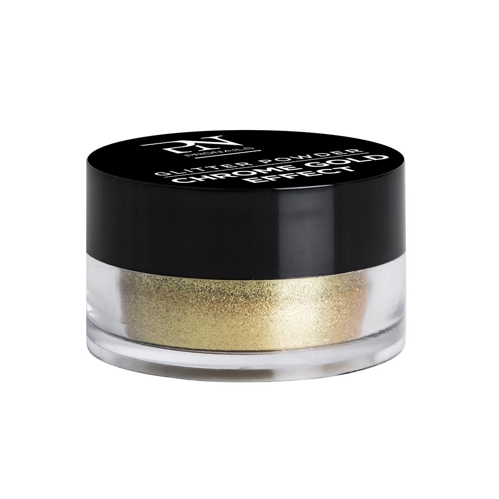 Afbeelding van ProNails Glitter Powder Chrome Gold Effect 2g