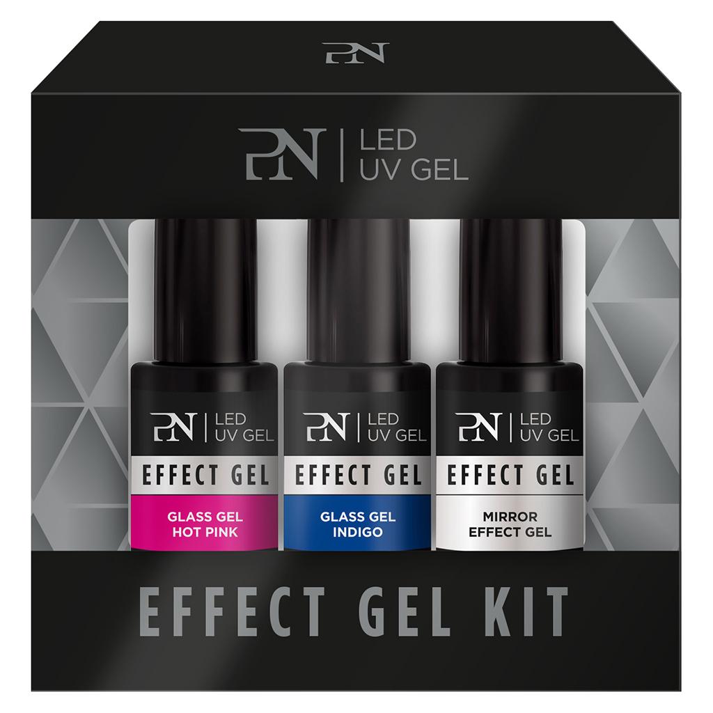 Afbeelding van PN Effect Kit 3 pcs - Mirror Glass Gels
