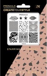 ProNails - Stamping Kit Terrazzo