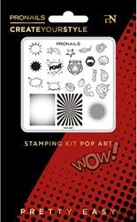 ProNails - Stamping Kit Pop Art