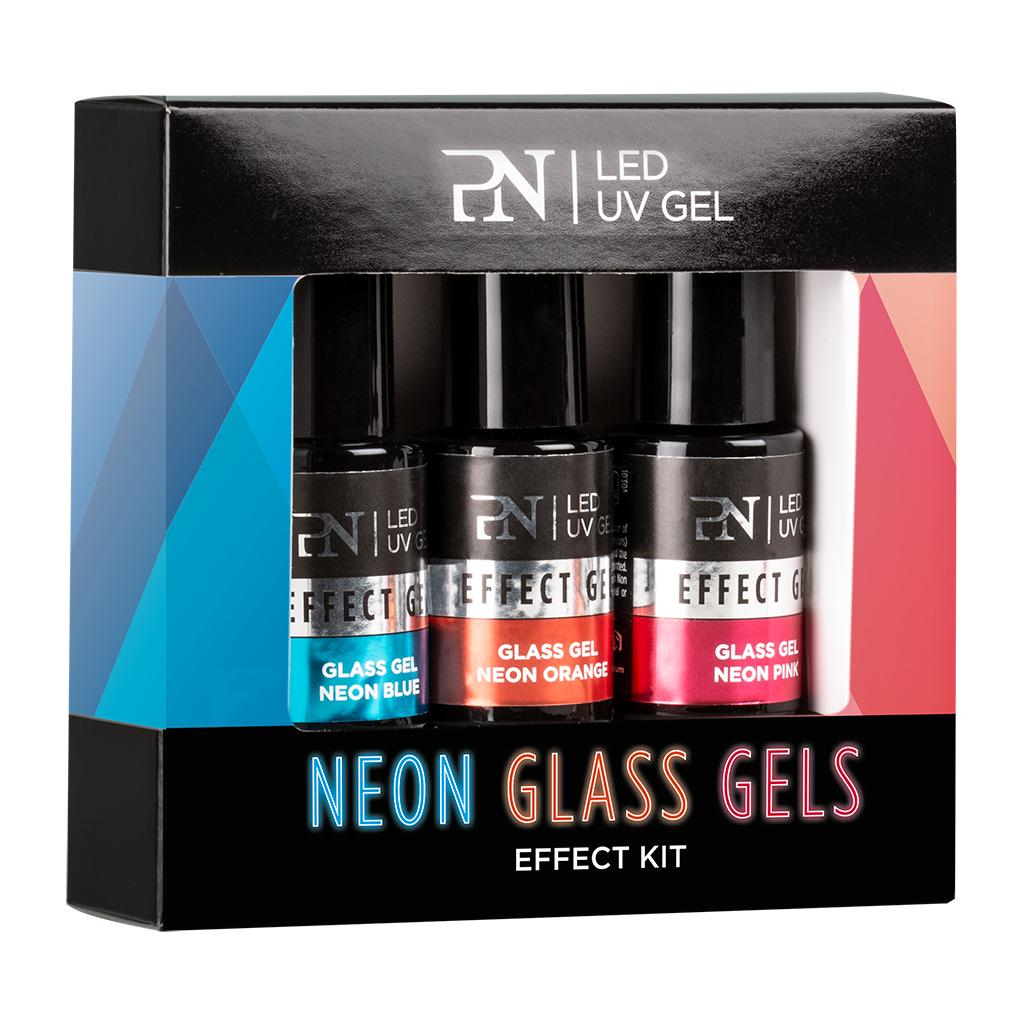 Afbeelding van PN Effect Kit 3 pcs - Neon Glass Gels