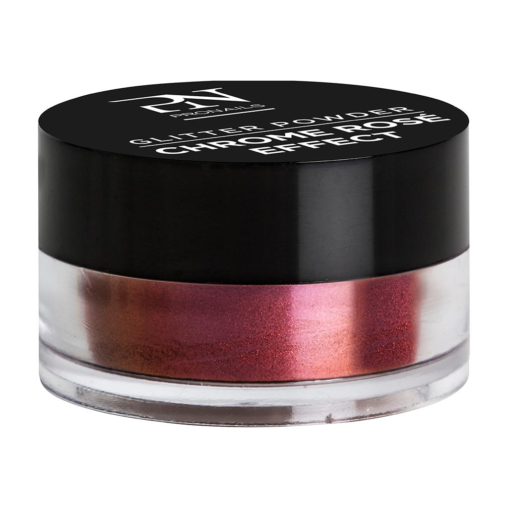 Afbeelding van ProNails Glitter Powder Chrome Rosé Effect 1g