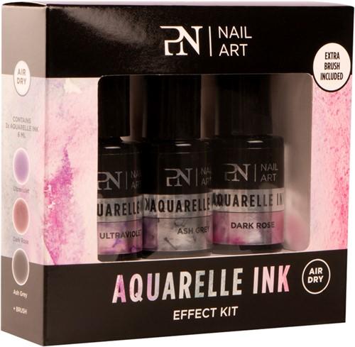 ProNails - Aquarelle Ink Effect Kit