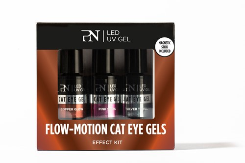 PN Effect Kit 3 pcs - Flow-Motion Cat eye Gels