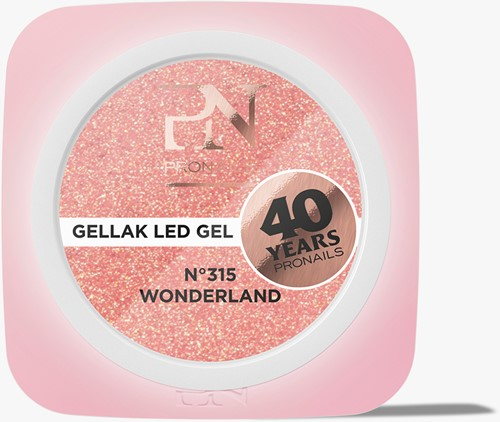ProNails Gellak #315 Wonderland 10ml