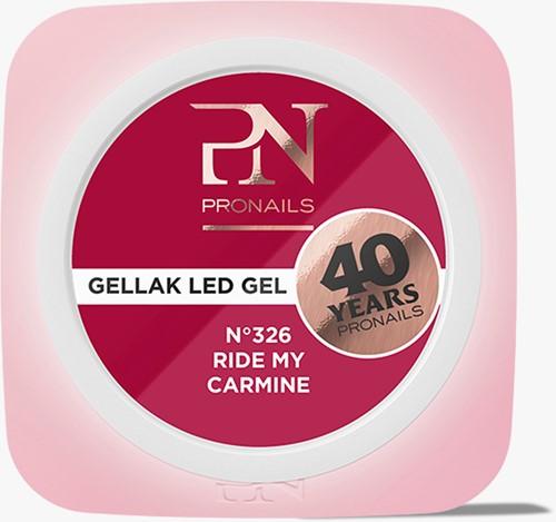 ProNails Gellak #326 Ride My Carmine 10ml