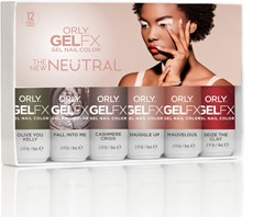 ORLY Gelfx The Neutral New 6 stuks