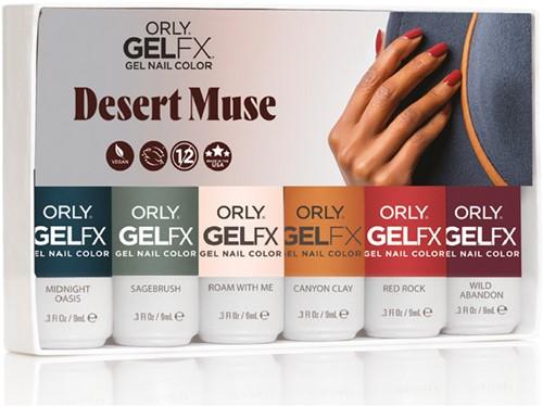 ORLY GELFX - Desert Muse 6-pack