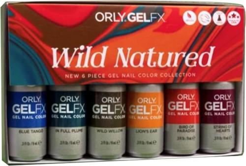 ORLY GELFX - Wild Natured Collectie 6pack