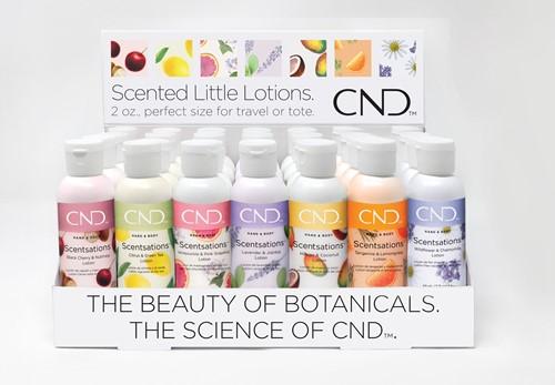 CND™ Scentsations Lotion -Mini Display (28 stuks)