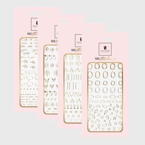 Afbeelding van MM- Nail stickers 4-pack