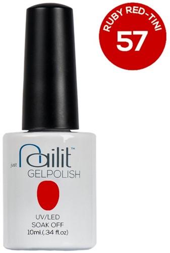 NailIt Gelpolish -  Ruby Red-Tini #57