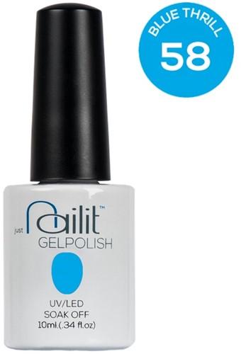 NailIt Gelpolish - Blue Thrill #58