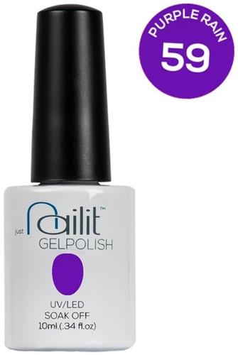 NailIt Gelpolish -  Purple Rain #59