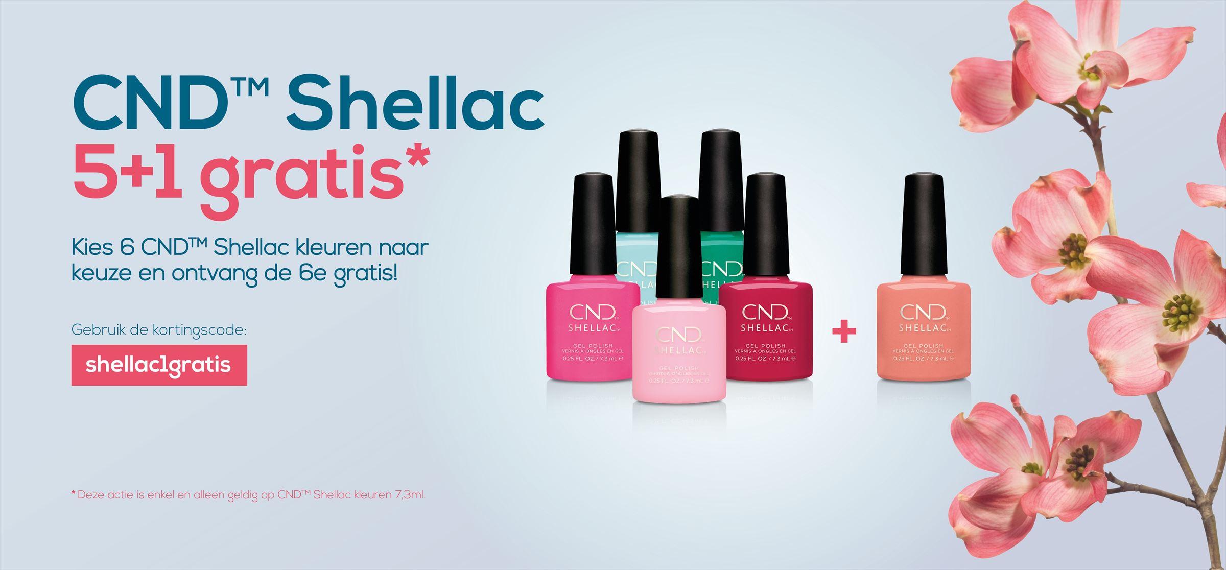 CND Shellac 5+1 Gratis