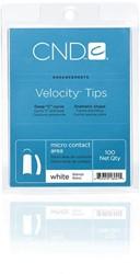 CND™ Velocity Tips - White 100 st.