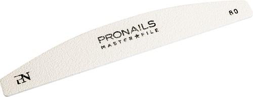 ProNails -  Master File Half Moon 80/80   6stuks