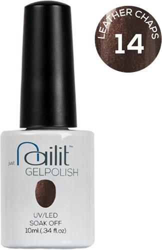 NailIt Gelpolish - Leather Chaps #14