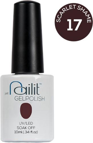 NailIt Gelpolish - Scarlet Shame #17