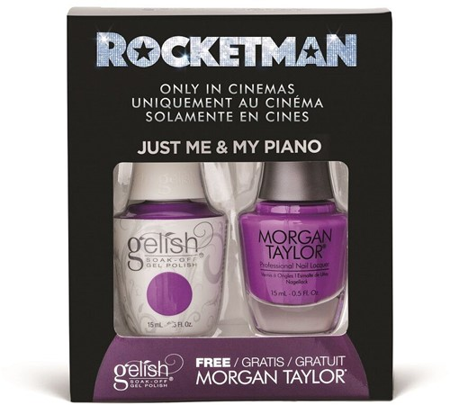 Gelish Gelpolish - Just Me & My Piano + Gratis Nagellak