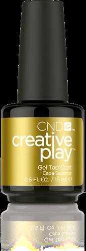 CREATIVE PLAY Gel Polish – Topcoat 15ml