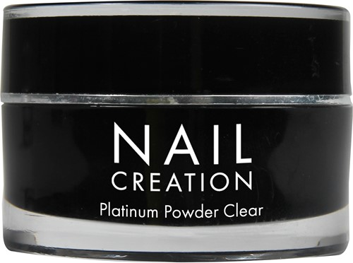 Nail Creation Platinum Powder - Clear