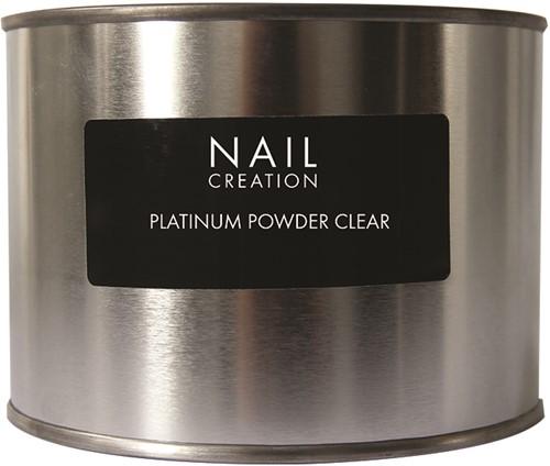 Nail Creation Platinum Powder - Clear 350 gm