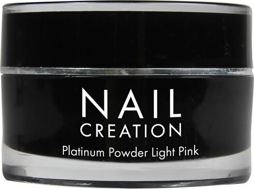 Nail Creation Platinum Powder - Light Pink