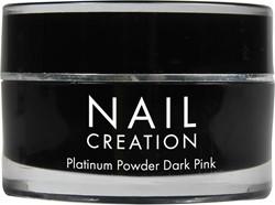 Nail Creation Platinum Powder - Dark Pink