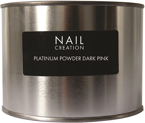 Nail Creation Platinum Powder - Dark Pink 350 gm