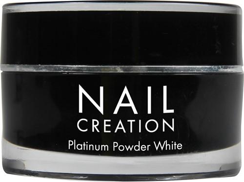 Nail Creation Platinum Powder - White