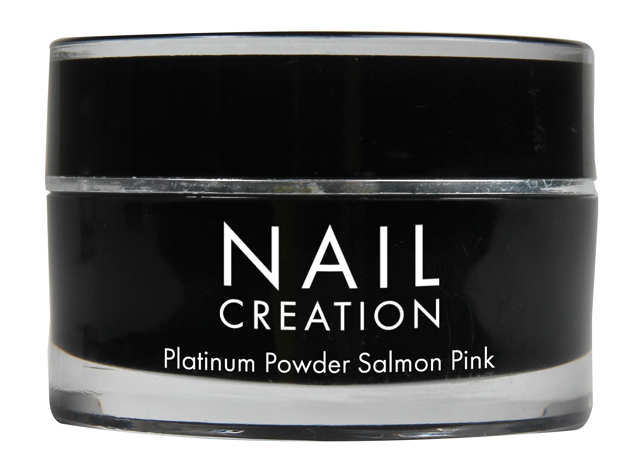 Afbeelding van Nail Creation Platinum Powder - Salmon Pink 20 gm