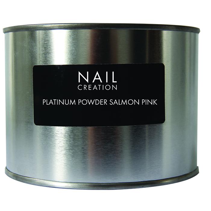 Afbeelding van Nail Creation Platinum Powder - Salmon Pink 350 gm