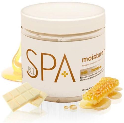 BCL SPA Massage Cream Milk + Honey White Chocolade 454 gr