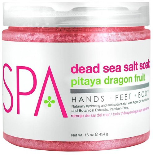 BCL Dead Sea Salt Soak Pitaya Dragon Fruit 454 gr