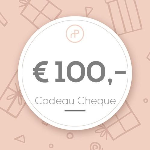 Cadeau Cheque € 100,-