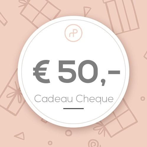 Cadeau Cheque €50,-