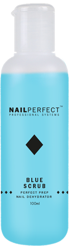 Nail Perfect Blue Scrub  100 ml
