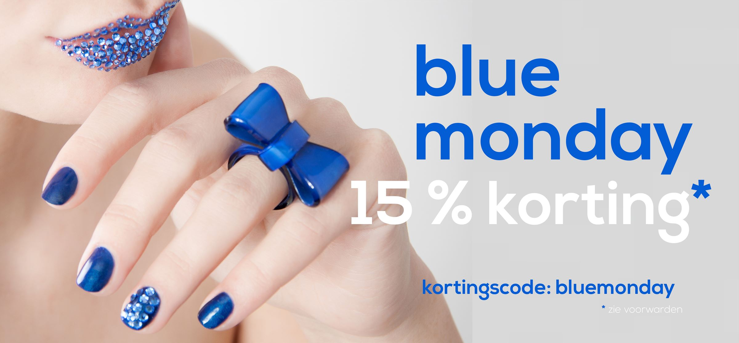 15% blue monday
