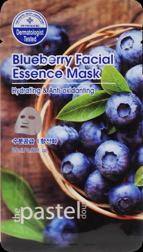 Blueberry Facial Essence Sheet - Doos 12stuks