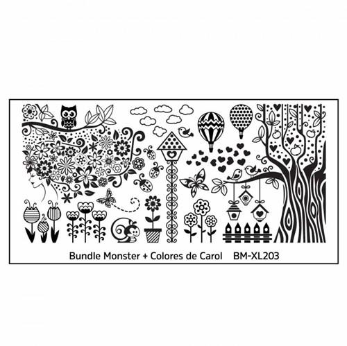 Bundle Monster Stempelplaat - BM-XL203